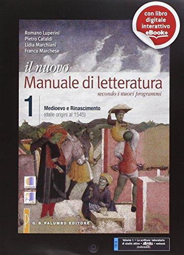 Il nuovo Manuale di letteratura. Per le Scuole superiori. Con e-book. Con espansione online: 1
