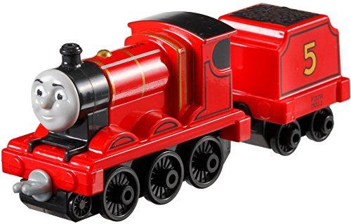 Mattel Fisher-Price DXR61 - Thomas Adventures Große Lokomotive James, Vorschul- Spielwelten