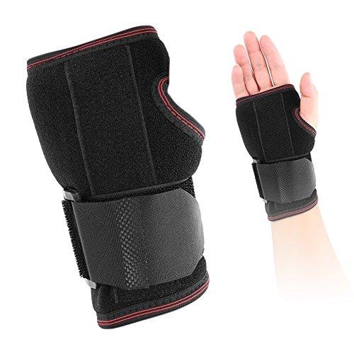 Fingerschienen Handgelenk Daumen Sehne Stabilisator Strap Brace Unterstützung Arthritis Tunnel Carpal Schmerz Verstauchung Rechts (Un tamaño correcto) (Arthritis Daumen-unterstützung)