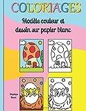 Telecharger Livres Coloriage modele couleur et dessins sur papier blanc (PDF,EPUB,MOBI) gratuits en Francaise