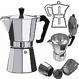Best Coffe Pots - HSP Aluminium Stovetop Moka Pot - Coffee/Tea Percolator Review