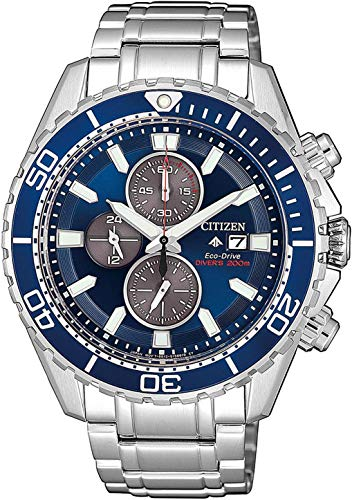 Citizen Herren Analog Quarz Uhr mit Edelstahl Armband CA0710-82L