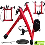 ABEXCEED® MAGNETIC INDOOR BICYCLE BIKE TURBO TRAINER EXERCISE STAND VARIABLE 8 RESISTANCE LEVELS MODEL R