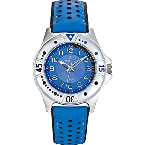 Certus - 647475 - Montre Enfant - Quartz Analogique - Cadran Bleu - Bracelet Synthétique Bleu