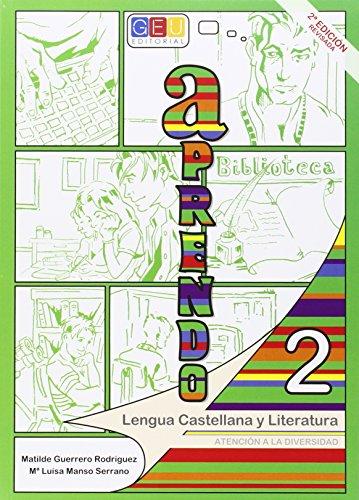 Aprendo 2. Lengua castellana y literatura por Matilde Guerrero Rodríguez