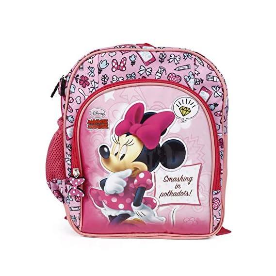 HM Disney Polyester 32 cms Multi School Backpack (HMHMSB 71178-MN)