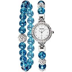 Fashion Bracelet Watch/ simple waterproof watch/Ladies quartz watch-E