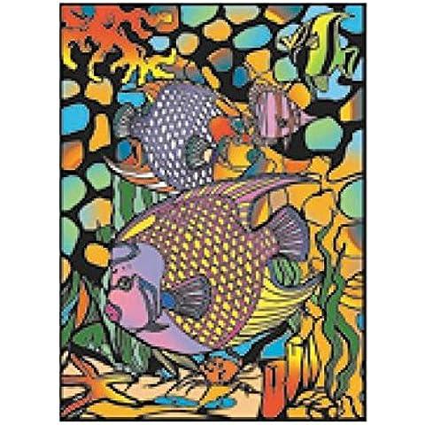 Colorvelvet -L047 - Disegno Pesci, 47 x