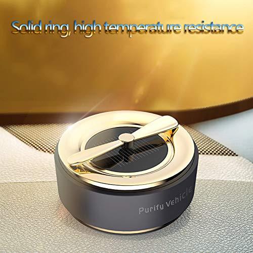 DLH Car Solid Parfüm, Car Solid Aromatherapie - Solar Rotierende Aromatherapie Dekoration - Car Aroma Parfüm - Parfüm Diffusor,A