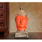 [Sponsored]TiedRibbons Antique Buddha Head Idol Big Size Show Piece Statue Garden Statue Outdoor Collectibles Figurines Showpiece Statue Items For Living Room Drawing Room Bed Room Hall Outdoor Decor