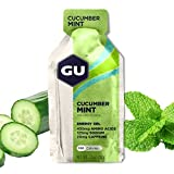 GU Energy Gel, Cucumber Mint (Gurke Minze), Box mit 24 x 32 g