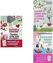 Les trois best sellers de Raphaëlle Giordano réunis