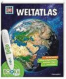 BOOKii® WAS IST WAS Weltatlas: Über 1800 Hörerlebnisse und mehr als 80 Karten, Länderlexikon mit Flaggen und Register