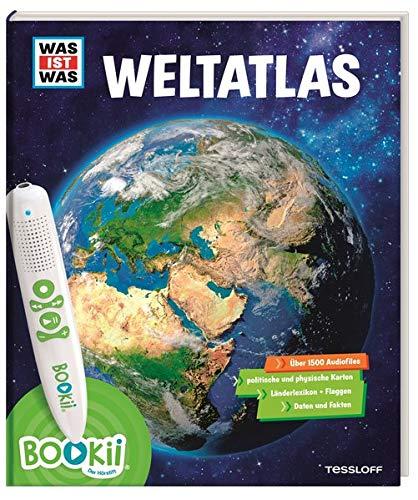 BOOKii® WAS IST WAS Weltatlas: Über 1800 Hörerlebnisse und mehr als 80 Karten, Länderlexikon mit Flaggen und Register (Zeitzonen Der Welt-karte)
