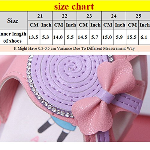 Zhhlinyuan Fashion Lighted Soft-Soled Sandals Baby Summer Anti-slip Toddler Cute First Walkers Shoes Pink