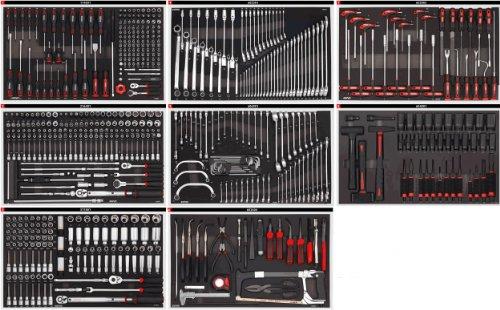 MEGA Sonic Equipment, Werkstattwagen, für 644 Werkzeuge, 7644 - 4