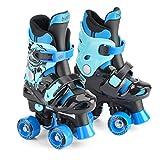 Osprey Quad Skates für Kinder, Verstellbare Rollschuhe für Mädchen und Jungen, in vier Farben erhältlich