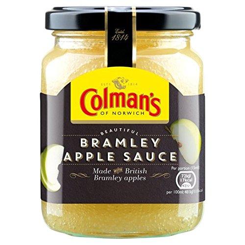 Bramley sauce aux pommes 250ml Colman