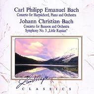Carl Philipp Emanuel Bach: Konzert für Hammerklavier, Cembalo & Orchester & Johann Christian Bach: Konzert für Fagott & Orchester