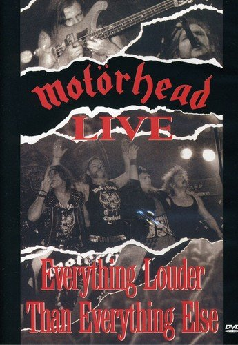 Motörhead Live - Live: Everything Louder Than Everything Else