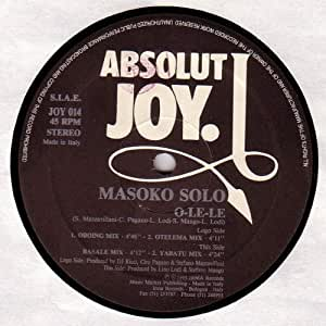 Masoko Solo - O-Le-Le - Absolut Joy - JOY 014