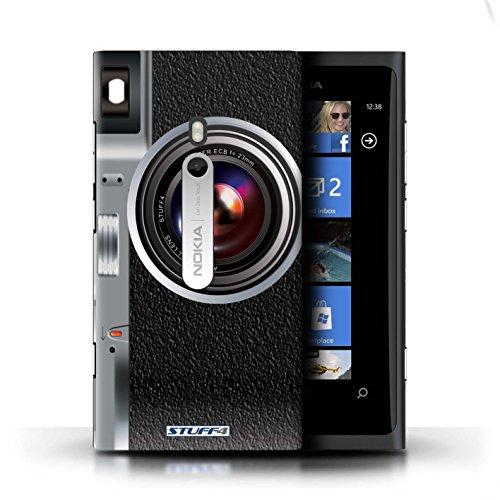 Kobalt® Imprimé Etui / Coque pour Nokia Lumia 800 / Caméscope conception / Série Appareil Photo Millésime