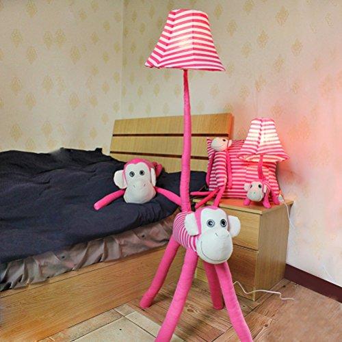 Floor Stand Lights - Kinder Lampe für Mädchen Colt Lampe Cute Stehlampe 48-Zoll-dekoratives Licht mit Stoff Schatten für Kinderzimmer Schlafzimmer Wohnzimmer - Design Fixture Lighting