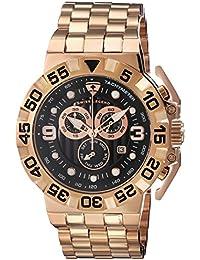 SWISS LEGEND 10125-RG-11 - Reloj para hombres, correa de acero inoxidable color oro rosa