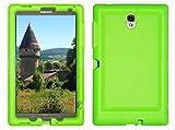 Custodia robusta BOBJ per Samsung Galaxy Tab S 8.4 Tablet Models SM-T700 (WiFi), SM-T705 (3G, 4G/LTE & WiFi) - BobjGear protezione Tablet caso (Verde)