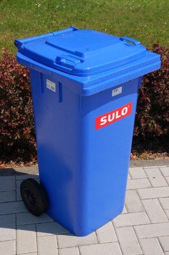 *Mülltonne Müllbehälter 120 liter, blau*