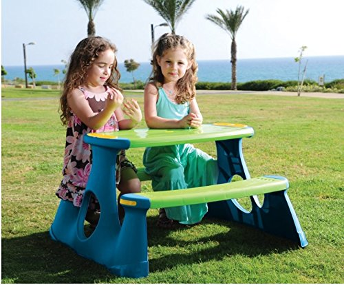 Table et bancs de pique-nique pour enfants Jardin Play meubles