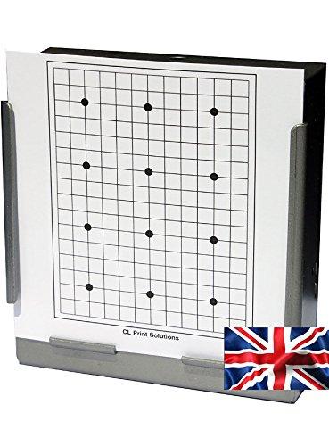 100x 17cm 12dot Grid Papier Ziele Air Gewehr Pistole (100gsm (Grid-ziel)