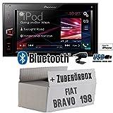 Fiat Bravo 198 - Pioneer MVH-AV280BT - 2DIN USB Bluetooth usato  Spedito ovunque in Italia