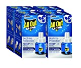 #4: All Out Ultra Power Plus Fan Refill Set (Blue, Pack of 4)