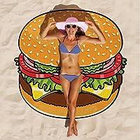 Materiale: Cotone Tessitura: Plain Elementi popolari: pittura Funzione: ombrellone Modello: Graffiti Per la stagione: primavera, estate, autunno Colore: hamburger, pizza, ciambelle