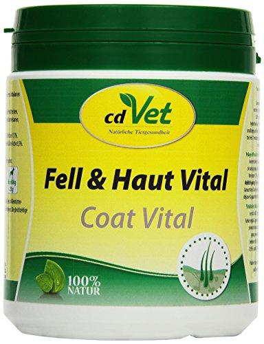 cdVet Naturprodukte Fell und Haut Vital Hund & Katze 400 g