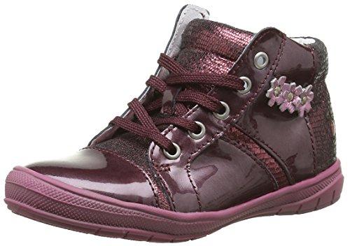 GBB Noelle, Chaussures Lacées Filles, Rouge (36 Vnv Bordo D Pf/2813), 21 EU
