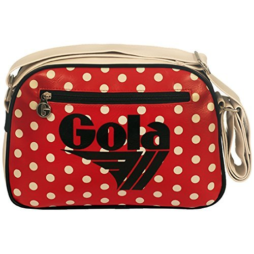 BORSA TRACOLLA GOLA MINI REDFORD POLKA CUB259 RED/CREAM/BLACK RED/CREAM/BLACK