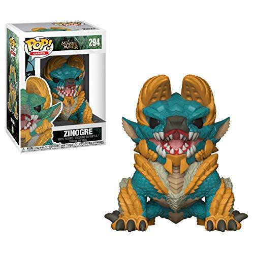 Funko- Figurines Pop Vinyle: Games: Monster Hunters: Zinogre, 27341, Multicolore, Standard