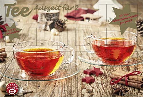Tee-Adventskalender für Zwei von Teekanne - 2019 / 2020, Teekalender (50 Beutel)
