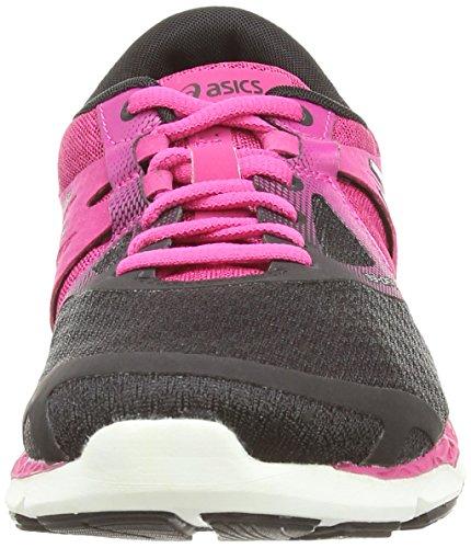 Asics 33-dfa, Scarpe Da Corsa Da Donna Allenamento Multicolore (onice / Rosa Caldo / Nero)