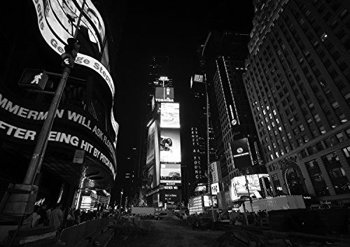 New York Time Square bei Nacht Fotografie 30 x 40 cm