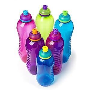 Sistema Twist 'n' Sip BPA Free Water Bottle, 460 ml - Blue