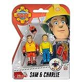 Sam El Bombero - Fireman Sam - Conjunto de Figuras - Sam & CharlieLos bomberos en Pontypandy siempre estar preparados en caso de emergencia.En Set 2 se incluyen figuras y varios accesorios, como un casco, chaleco y herramientas.Material: Plástico...