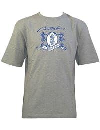 CCC Plage Sticker Rugby T-shirt Junior [Gris]