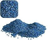 20 Kg blauen Quarzkies 'Premium Qualität' 2-3 mm Bodengrund Aquarium