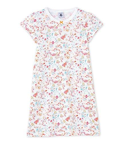Petit Bateau Mädchen Nachthemden Chemise De Nuit_23835, Mehrfarbig (Ecume/Cupcake/Multico 66), 92 (2ans/86cm) (T-shirt Cupcake Kinder)