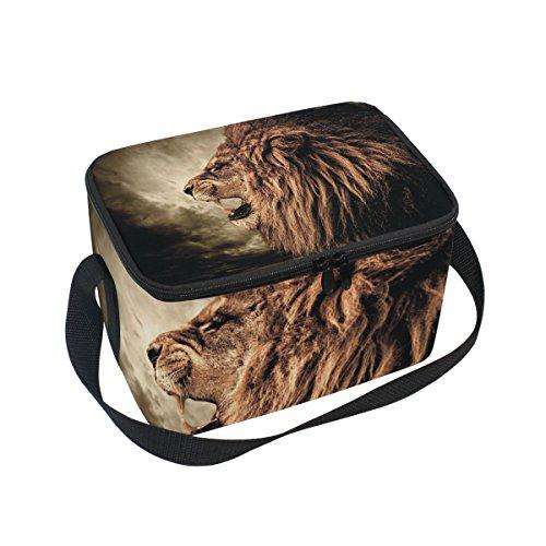 Isolierte Lunchtasche, Kühltasche, wiederverwendbar, für Outdoor-Reisen, Picknick-Taschen ()