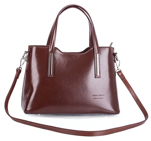Big Handbag Shop - Borsa a tracolla donna Coffee