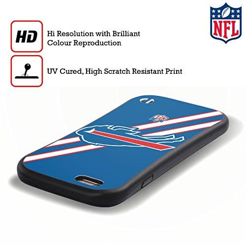 Ufficiale NFL Camou Buffalo Bills Logo Case Ibrida per Apple iPhone 7 Plus / 8 Plus Strisce